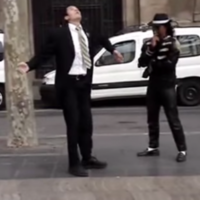 This dance-off between a Mormon missionary and Michael Jackson impersonator is solid gold