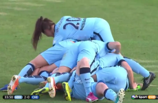 The Women's Super League was effectively decided by one cracking volley
