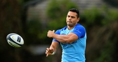 Snapshot: 'Outstanding athlete' Ben Te'o had his first Leinster training session today
