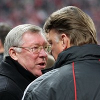 Safe to say that Fergie's pretty happy with how Van Gaal is doing at United so far