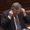 What is James Reilly listening to? (Because it isn't Richard Boyd Barrett)