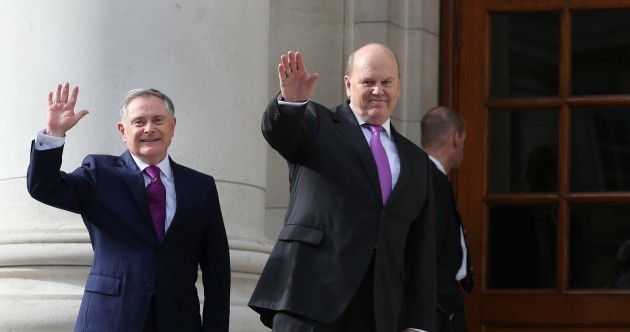 Inside Leinster House: Giddy government backbenchers embrace the end of austerity...