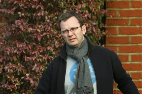 File photo dated 22 January 2011 of Andy Coulson outside his London home.