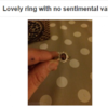 """Dublin woman tries to sell cheating boyfriend's ring so she can """"go on the lash"""""""