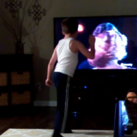 Watch this kid absolutely nail everyone's favourite scene from Dirty Dancing