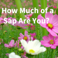 How Much of a Sap Are You?