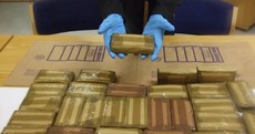 Man arrested after this €500k cocaine haul found in house