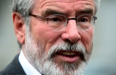 Gerry Adams denies claims about meeting with alleged rape victim