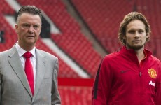 Daley Blind won't hide behind United's star signings
