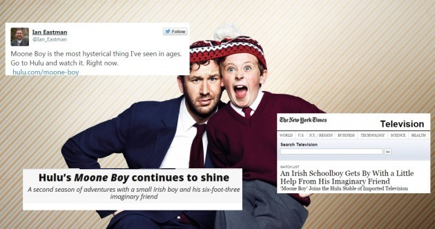 O'Dowd making a US Moone Boy, but how did the Irish version go down stateside?