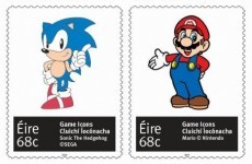 Pac-Man, Mario and Sonic the Hedgehog are getting their own An Post stamps