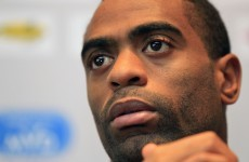 Sidelined: Tyson Gay out for rest of season