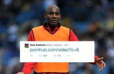 This footballer's mortifying Twitter porn gaffe is going viral... but it's a hoax