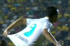 Brazilian striker faces six-match ban for trying to con ref - by pulling HIS OWN jersey