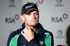 Ireland captain Porterfield returns home from pre-World Cup tour