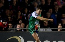 Muliaina aiding Connacht's young backs despite injury absence