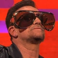 Finally, Bono reveals why he never takes off his sunglasses