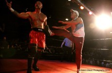 The Irish wrestler who has no regrets about waving goodbye to WWE