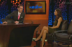 Tubridy made the Blurred Lines model watch the song as Gaeilge and it was deeply awkward