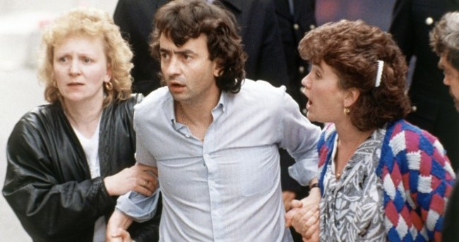 Gerry Conlon and the Guildford Four were released 25 years ago today