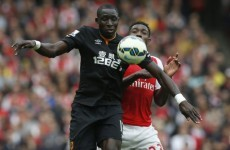 Danny Welbeck rescued Arsenal with this injury-time equaliser