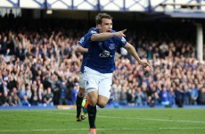 Seamus Coleman goal helps Toffees to Goodison win over Villa