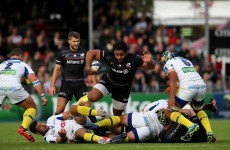 Saracens warm up for Thomond Park with four-try win against Clermont