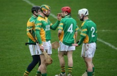 Three Offaly hurling titles in a row for Kilcormac/Killoughey but Wexford decider will go to a replay