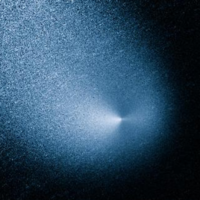 A huge comet that's as solid as a pile of talcum powder just buzzed by Mars