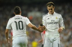 Gareth Bale is a major doubt for Real Madrid's trip to Liverpool
