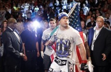 Un-caged: Night of knockouts at UFC 132