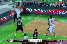 This is one of the most incredible basketball shots you'll ever see