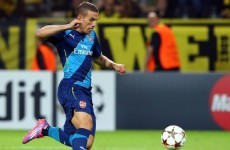 Podolski: Hell will freeze over before I leave Arsenal for Tottenham