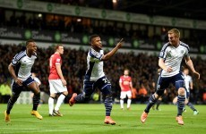Man United fall behind to Stephane Sessegnon's thunderous strike