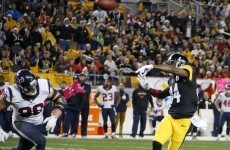 Rapid fire Steelers show their mettle against Texans