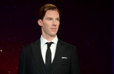 Benedict Cumberbatch's wax figure is SHOCKINGLY lifelike