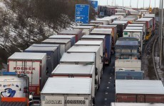 """An absolute disgrace"" - Hauliers hit back at criticism of Monday's blockade"