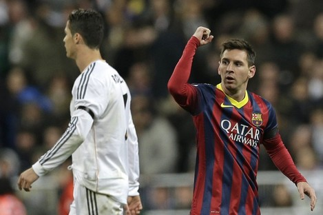 Ronaldo and Messi: hopefully neither of them do anything outrageous in the first 15 minutes tomorrow.