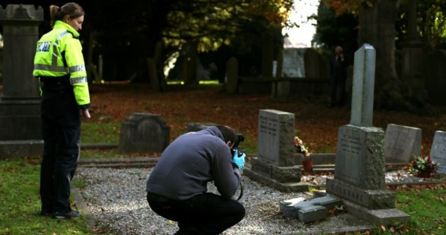 Grave of WT Cosgrave vandalised in Goldenbridge Cemetery