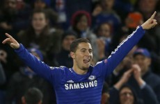 Hazard stars as Chelsea run riot at the Bridge