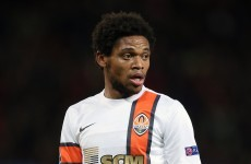 Luiz Adriano joins elite company with five goals against BATE