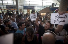 Irish woman held in Israel over 'flytilla' protest