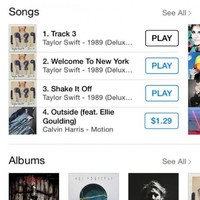Taylor Swift accidentally released 8 seconds of static and it shot to number one on iTunes