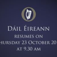 Three TDs have been suspended from the Dáil after a massive row