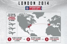 This NFL team has no idea where London is