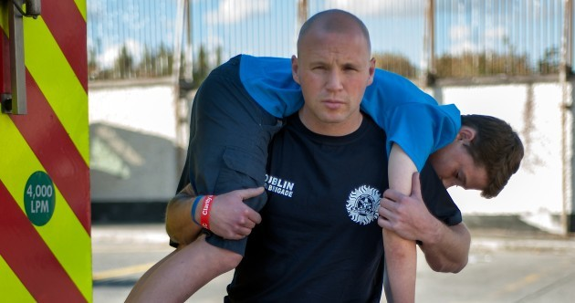 Dublin fireman will run marathon with child's weight on his shoulders to highlight teen suicide