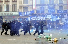 Everton fans caught up in trouble ahead of Europa League game with Lille