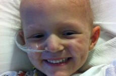 Four-year-old who had 'weeks to live' given all-clear from cancer