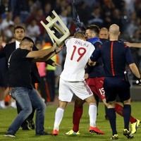 Serbia given 3-0 win but deducted three points for Albania drone violence