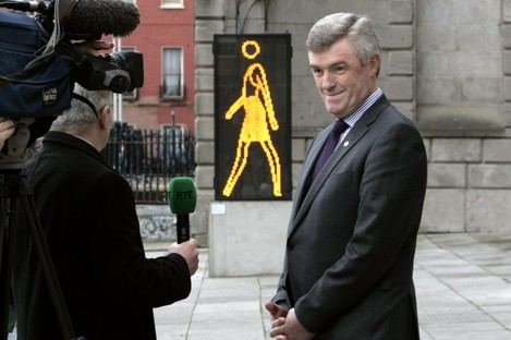 Irish Water boss John Tierney during his previous post as Dublin city manager